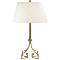 Visual Comfort NW3015VG-S Niermann Weeks Rhodes 26 inch 40 watt Venetian Gold Table Lamp Portable Light, Niermann Weeks, Silk Shade