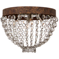 Visual Comfort NW4016AGP-CG Niermann Weeks Lyon 4 Light 16 inch Antique Gild and Polychrome Flush Mount Ceiling Light