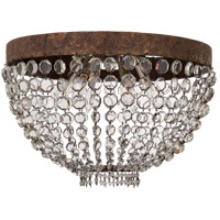 Visual Comfort NW4017AGP-CG Niermann Weeks Lyon 6 Light 20 inch Antique Gild and Polychrome Flush Mount Ceiling Light