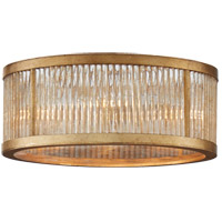 Niermann Weeks Sophie 4 Light 14 inch Gilded Iron Flush Mount Ceiling Light, Niermann Weeks