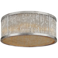 Visual Comfort NW4021BSL Niermann Weeks Sophie 4 Light 18 inch Burnished Silver Leaf Flush Mount Ceiling Light, Large