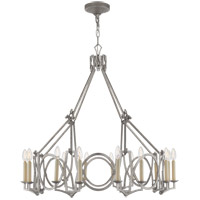 Visual Comfort NW5011VS Niermann Weeks Brittany 6 Light 37 inch Venetian Silver Chandelier Ceiling Light, Niermann Weeks