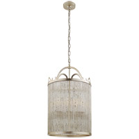 Niermann Weeks Sophie 4 Light 18 inch Burnished Silver Leaf Foyer Lantern Ceiling Light