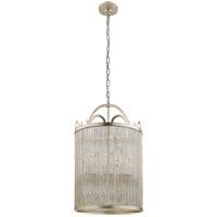 Visual Comfort NW5025BSL Niermann Weeks Sophie 4 Light 18 inch Burnished Silver Leaf Foyer Lantern Ceiling Light