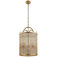 Niermann Weeks Sophie 4 Light 18 inch Gilded Iron Foyer Lantern Ceiling Light