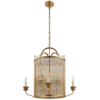 Visual Comfort Niermann Weeks Sophie 8 Light 30-inch Chandelier in Gilded Iron, Large NW5026GI