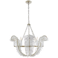 Niermann Weeks Calais 6 Light 34 inch Burnished Silver Leaf Chandelier Ceiling Light, Niermann Weeks