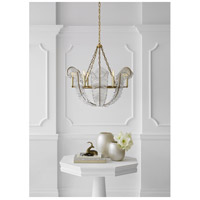 Visual Comfort NW5051GI Niermann Weeks Calais 6 Light 34 inch Gilded Iron Chandelier Ceiling Light, Niermann Weeks alternative photo thumbnail