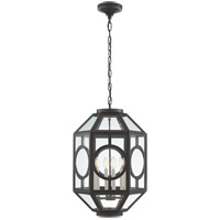 Visual Comfort Niermann Weeks Chatsworth 6 Light 16-inch Foyer Lantern in Aged Iron, Lantern NW5100AI