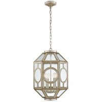 Visual Comfort Niermann Weeks Chatsworth 6 Light 16-inch Foyer Lantern in Burnished Silver Leaf, Lantern NW5100BSL