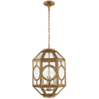 Niermann Weeks Chatsworth 6 Light 17 inch Gilded Iron Foyer Lantern Ceiling Light, Niermann Weeks, Lantern