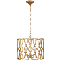 Niermann Weeks Brittany 4 Light 20 inch Venetian Gold Foyer Lantern Ceiling Light, Niermann Weeks, Small