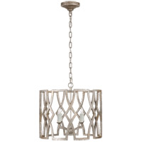 Niermann Weeks Brittany 4 Light 20 inch Venetian Silver Foyer Lantern Ceiling Light, Niermann Weeks, Small