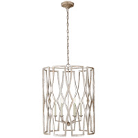 Visual Comfort NW5112VS Niermann Weeks Brittany 6 Light 24 inch Venetian Silver Foyer Lantern Ceiling Light, Niermann Weeks, Large