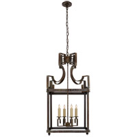 Visual Comfort NW5143WVG Niermann Weeks Severn 4 Light 17 inch Weathered Verdigris Foyer Lantern Ceiling Light