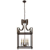Visual Comfort NW5143WVG Niermann Weeks Severn 4 Light 17 inch Weathered Verdigris Foyer Lantern Ceiling Light