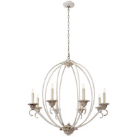 Visual Comfort NW5200BW Niermann Weeks Verrocchio 8 Light 34 inch Belgian White Chandelier Ceiling Light, Niermann Weeks, Medium
