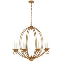 Visual Comfort NW5200GI Niermann Weeks Verrocchio 8 Light 34 inch Gilded Iron Chandelier Ceiling Light