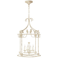 Visual Comfort NW5205OW Niermann Weeks Luciano 4 Light 18 inch Old White Lantern Pendant Ceiling Light Medium Round