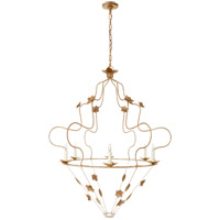 Visual Comfort NW5210GI Niermann Weeks Arundel 6 Light 40 inch Gilded Iron Chandelier Ceiling Light Grande Ornate
