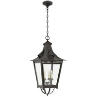 Visual Comfort NW5709FR-CG Niermann Weeks Orleans 4 Light 16 inch French Rust Outdoor Hanging Lantern, Large
