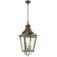 Visual Comfort NW5709WVG-CG Niermann Weeks Orleans 4 Light 16 inch Weathered Verdigris Outdoor Hanging Lantern, Large