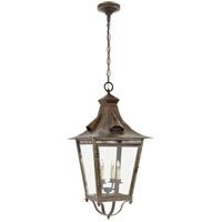 Visual Comfort NW5709WVG-CG Niermann Weeks Orleans 4 Light 16 inch Weathered Verdigris Outdoor Hanging Lantern Large