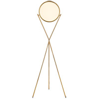 Visual Comfort PB1005NB Peter Bristol Dot Stance 60 inch 18 watt Natural Brass Floor Lamp Portable Light
