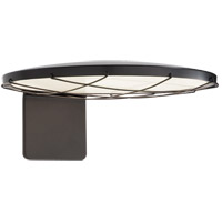 Visual Comfort PB2003MBK Peter Bristol Dot 1 Light 6 inch Matte Black Outdoor Wall Light