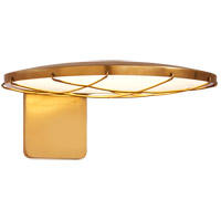 Peter Bristol Dot 1 Light 6 inch Natural Brass Outdoor Wall Light