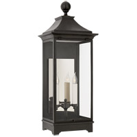 Visual Comfort RC2008FR-CG Rudolph Colby Rosedale 2 Light 32 inch French Rust Outdoor Wall Lantern Medium
