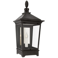 Visual Comfort RC2025FR-CG Rudolph Colby Rosedale Classic 1 Light 26 inch French Rust Outdoor Wall Lantern Small