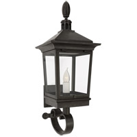 Visual Comfort RC2034FR-CG Rudolph Colby Rosedale Classic 1 Light 27 inch French Rust Outdoor Bracketed Wall Lantern, Petite