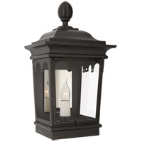 Visual Comfort RC2042FR-CG Rudolph Colby Rosedale Grand 1 Light 17 inch French Rust Outdoor Wall Lantern Petite