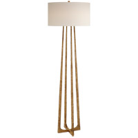 Visual Comfort S1513GI-PL Ian K. Fowler Scala 63 inch 100 watt Gilded Iron Floor Lamp Portable Light
