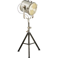 Visual Comfort Studio Steadfast Harbor 1 Light Task Floor Lamp in Vintage Steel  S1750VS