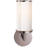 Studio Cylinder 1 Light 6 inch Polished Nickel Bath Wall Light