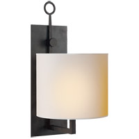 Visual Comfort S2030BR-NP Ian K. Fowler Aspen 1 Light 8 inch Hand Painted Blackened Rust Decorative Wall Light