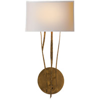 Ian K. Fowler Aspen 1 Light 9 inch Gilded Iron with Wax Decorative Wall Light