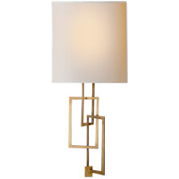 Visual Comfort S2090HAB-NP Studio Cooper 1 Light 9 inch Hand-Rubbed Antique Brass Decorative Wall Light