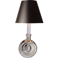 Visual Comfort Studio French 1 Light Decorative Wall Light in Polished Nickel S2110PN-B