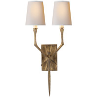 Visual Comfort S2120GI-NP Studio Bristol 2 Light 8 inch Gilded Iron Decorative Wall Light