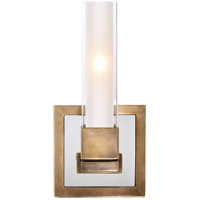 Visual Comfort S2150HAB-CG Ian K. Fowler Kendal 1 Light 5 inch Hand-Rubbed Antique Brass Decorative Wall Light