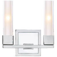 Visual Comfort S2155PN-CG Ian K. Fowler Kendal 2 Light 9 inch Polished Nickel Decorative Wall Light photo thumbnail