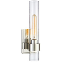 Visual Comfort Ian K. Fowler Presidio 1 Light 5 inch Polished Nickel Sconce Wall Light, Petite S2165PN-CG - Open Box