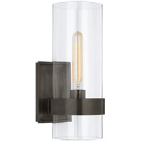 Visual Comfort S2166BZ-CG Ian K. Fowler Presidio 1 Light 5 inch Bronze Sconce Wall Light Small