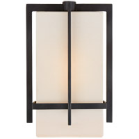 Visual Comfort S2323AI-L Ian K. Fowler Milo 1 Light 7 inch Aged Iron Wall Sconce Wall Light, Small photo thumbnail