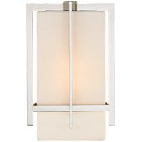 Visual Comfort S2323PN-L Ian K. Fowler Milo 1 Light 7 inch Polished Nickel Wall Sconce Wall Light, Small