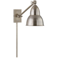 Visual Comfort S2601AN Studio French Library 21 inch 50 watt Antique Nickel Task Wall Light