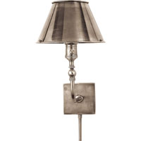 Visual Comfort Studio Swivel Head 10 inch 60 watt Antique Nickel Task Wall Light S2650AN-AN - Open Box